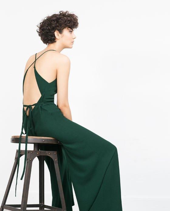 Zara - HALTER NECK JUMPSUIT WITHSTRAPPY BACK 49,95€
