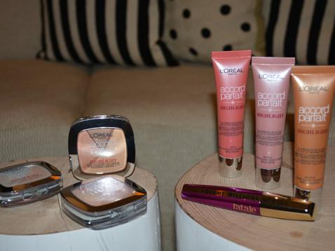J'ai testé les nouveaux illuminateurs de teint Accord Parfait de L'Oréal.