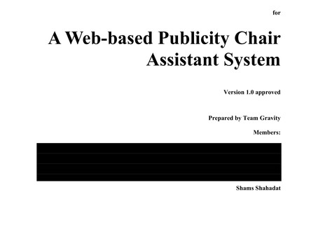 Software Requirements Specifications: Mass Email Assistant System - Software Engineering