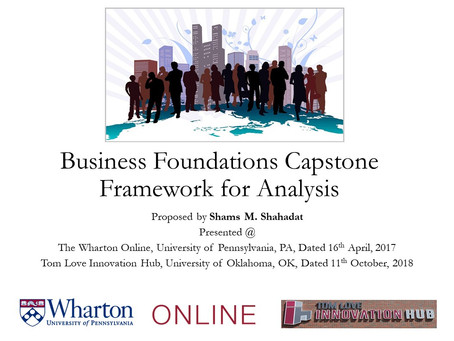 EIT-FE (IronMan) Licensure - A Business Foundation Study @ The Wharton Online, Univ. of Penn, PA