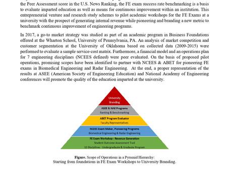 Entrepreneurial Ventures - Academic Research & Development