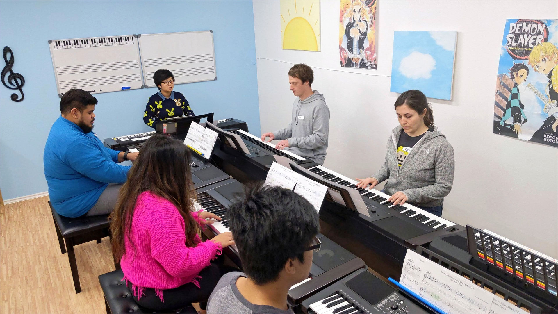 Denton Group Piano Lessons