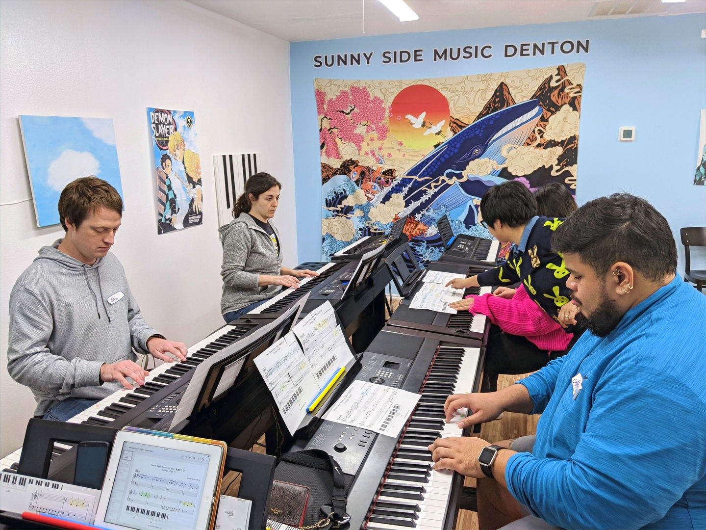 Sunny Side Music Denton Piano Lessons Near Me