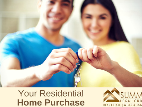 Your Residential Home Purchase