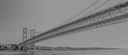 Narrows Bridge B&W