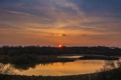 Sunset on Lake TM 2