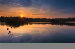 Sunset on Lake TM