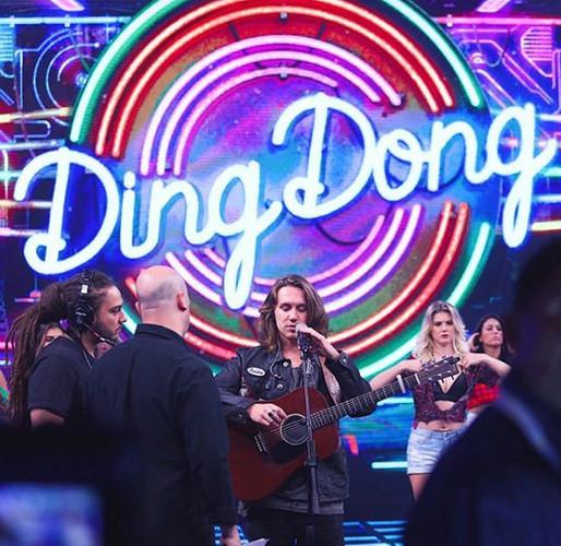 Passagem de som no Ding Dong