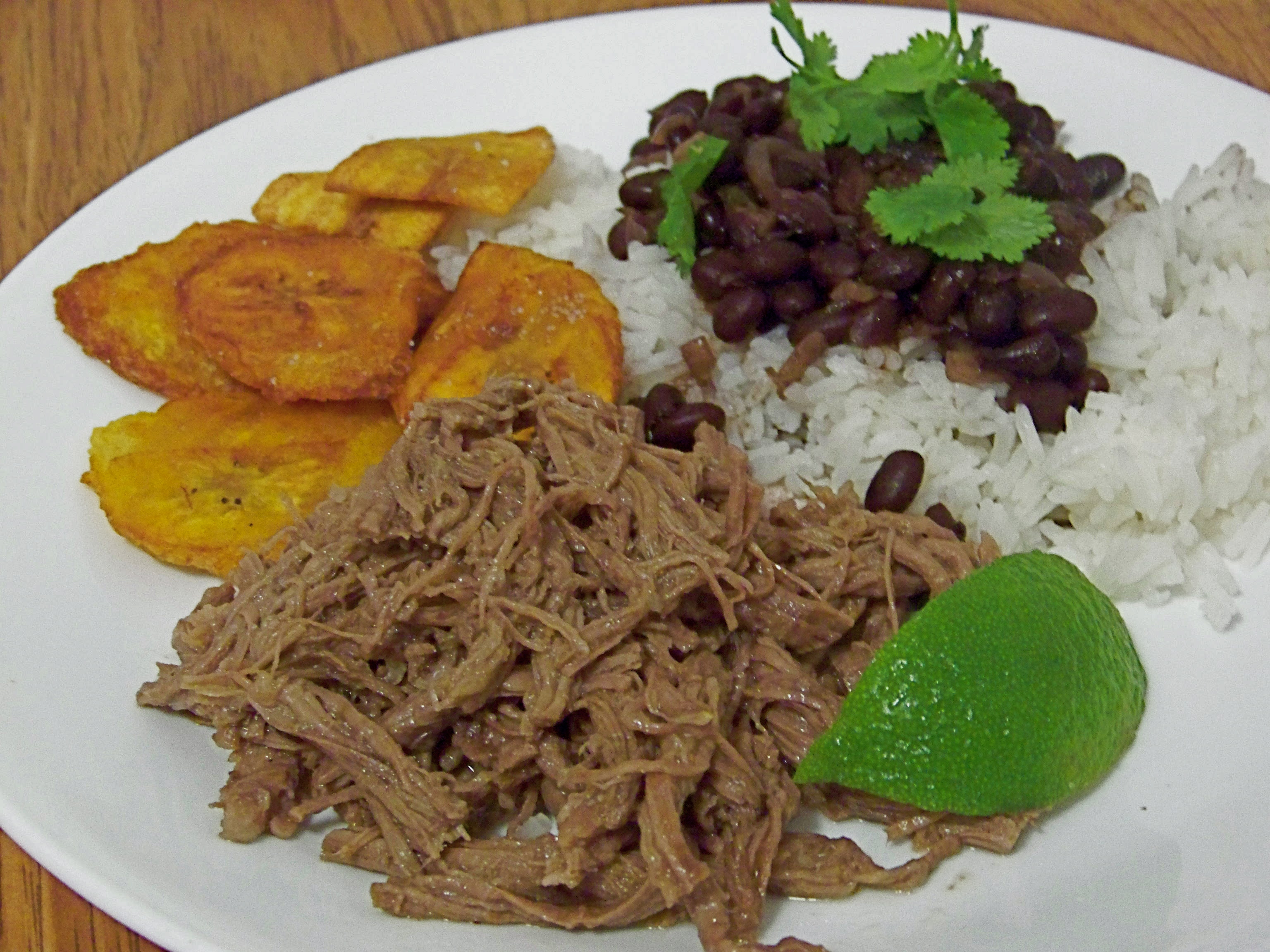 Typical Cuban dishes.