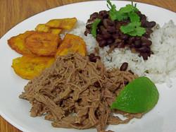 Platos típicos cubanos.