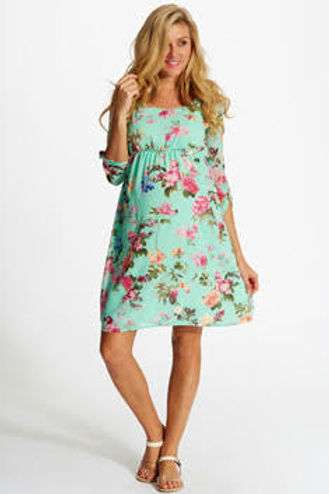 2a8fe54b28ff7 Our Favorite Pink Blush Maternity Easter Dresses! - The Daily Soul ...
