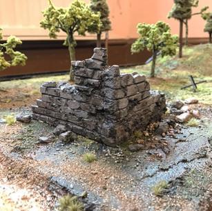 WW11 Battlefield Diorama