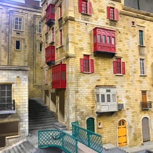 Malta Diorama