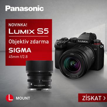 Mimořádná nabídka LUMIX S5 & Sigma 45mm F2.8 DG DN