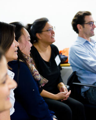 OaklandChamber-43 participants listening