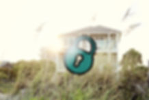 Seaside Park Real Estate, Seaside Park vacation rental wit image of padlock superimposed
