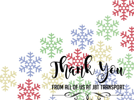To Our Drivers and Drivers Everywhere: We Thank You!