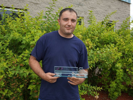 Trucking Team Member Zoran Celebrates his 10 Year Anniversary