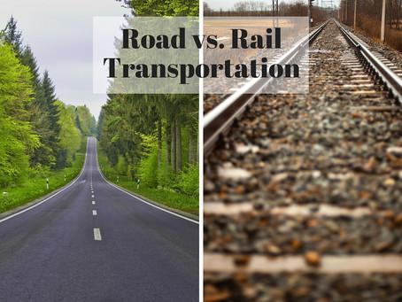 Road vs. Rail: Choosing the Right Method of Transportation for Your Goods