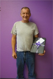 Frank Celebrates 5 Years of Service at JBT Transport