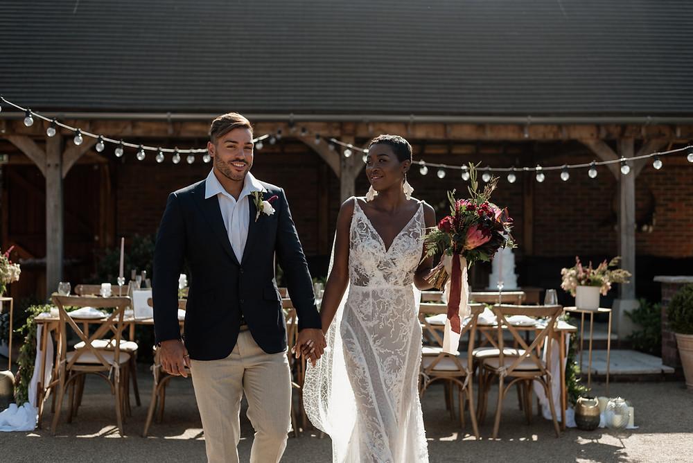 Sussex Wedding Elopement Couple