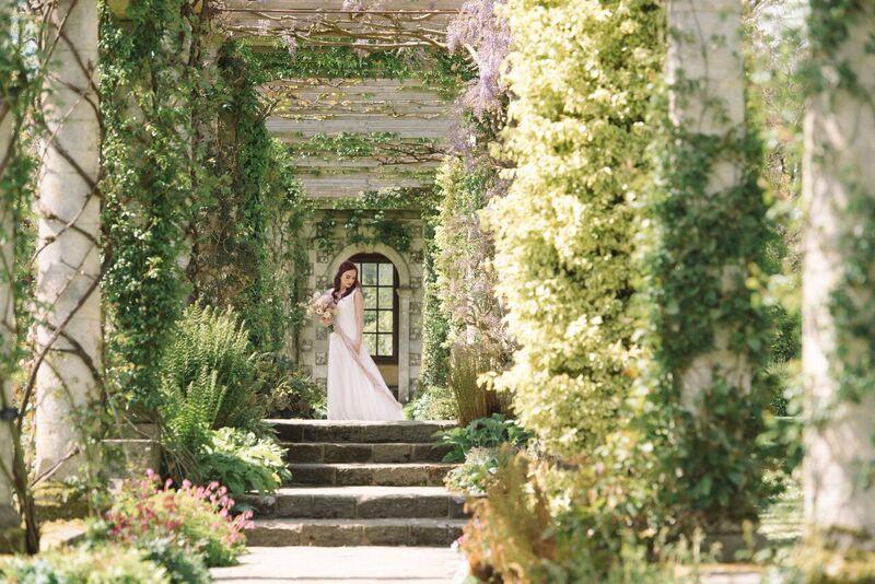 West Dean Gardens Bridal Inspiration