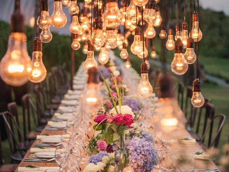 Festival Inspired Wedding Tables