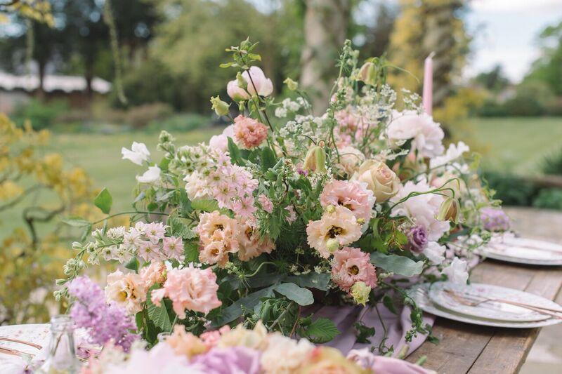 Wedding Flower Table Decor