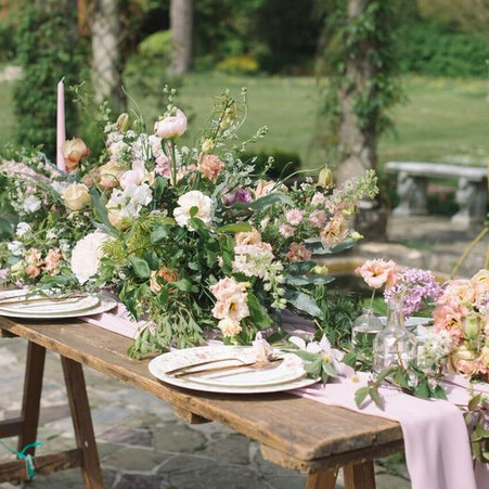 Styled Shoot - Bohemian and English Country Styled Wedding
