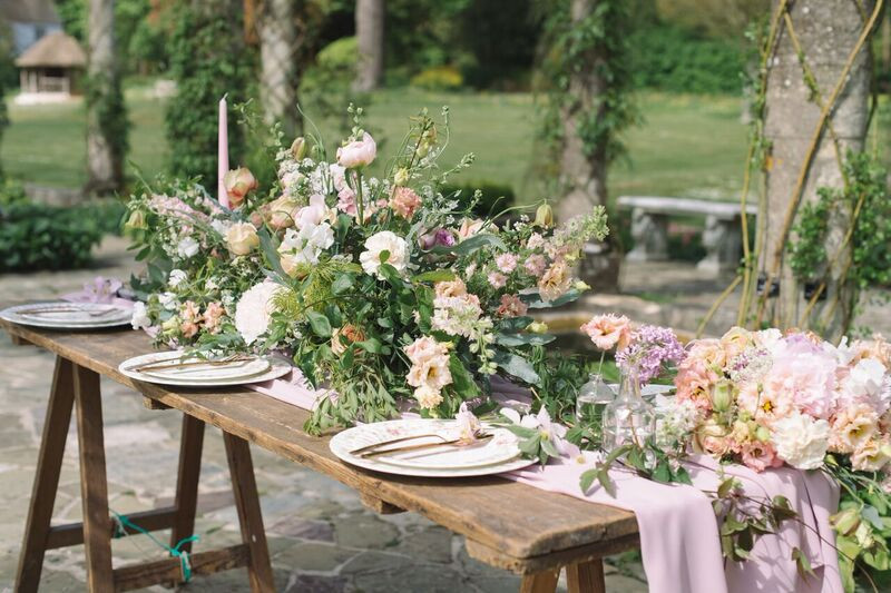 Bohemian Country Styled Wedding Table