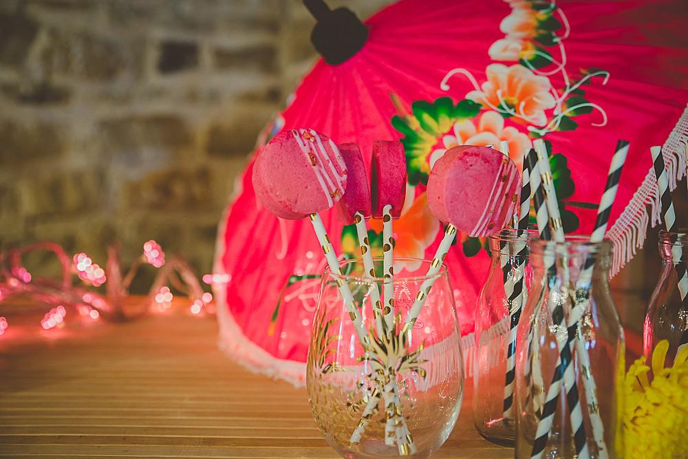 Marshmallow Pops Wedding Food