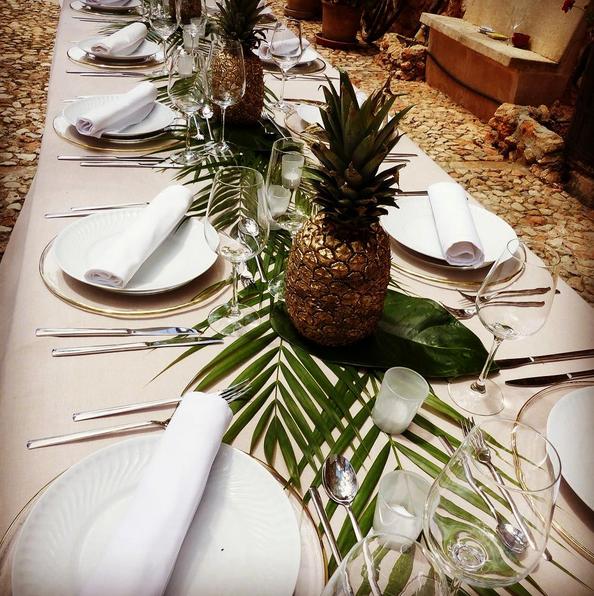 Pineapple Botanical Themed Wedding