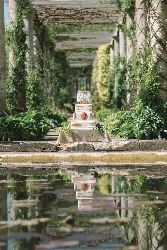 1920's Wedding Cake Sussex West Dean Gardens