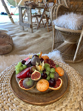 Grazing Fruits Tipi Wedding