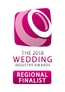 Regional Finalist at the UK Wedding Industry Awards