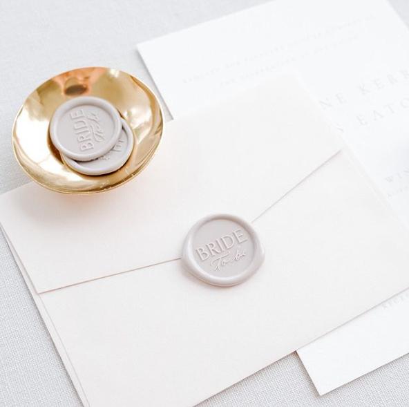 Wax Seal Minimalist Stationery