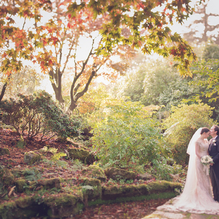 A Romantic Country Wedding in the English South Downs