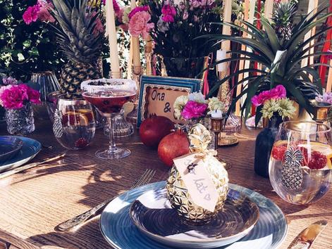 Pineapple Themed Wedding Ideas