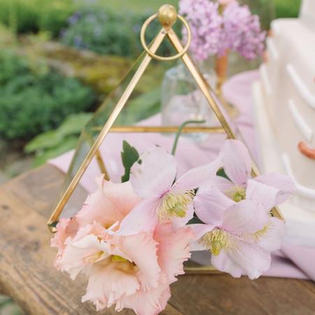 Bohemian Terrarium Wedding Details