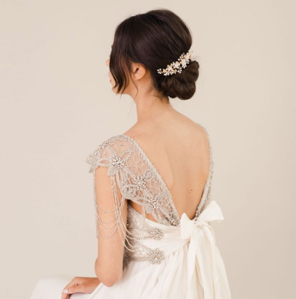 Liberty in Love Bridal Hair Accessory