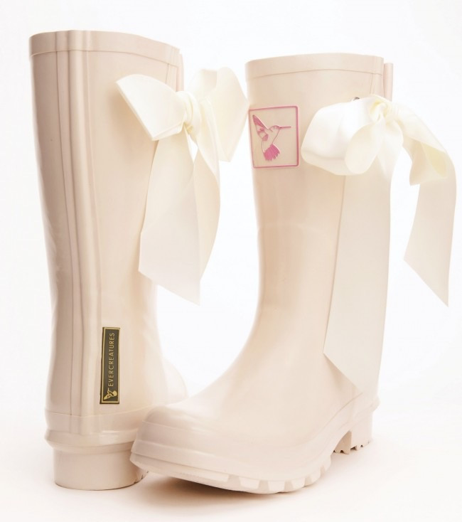 Bridal Wellies