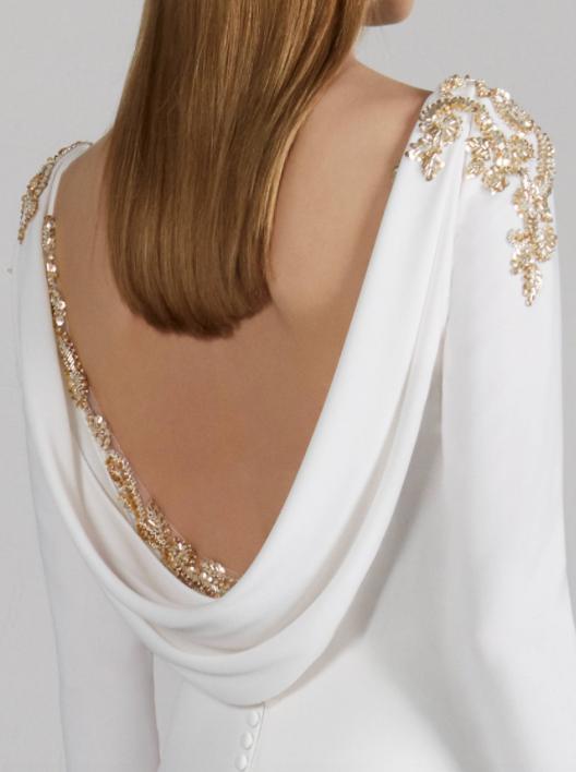 Memory Embellishment Pronovias Wedding Dress