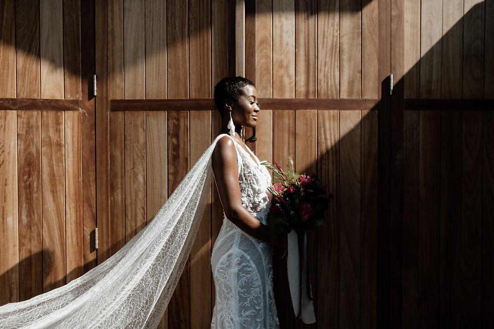 Elopement Bridal Veil