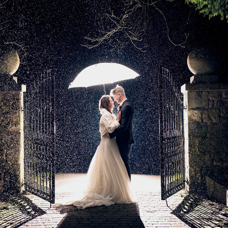 Rainy Wedding Day Ideas