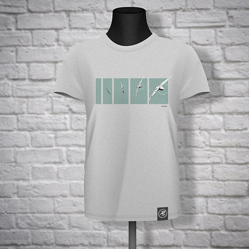 Tally Ho Spitfire T-Shirt -Teal