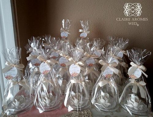 Mini campanas con cerámica
