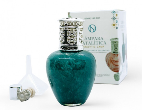 Lampe Colette verde agua