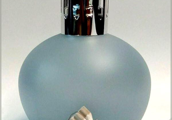 Lampe Colette ahumado azul