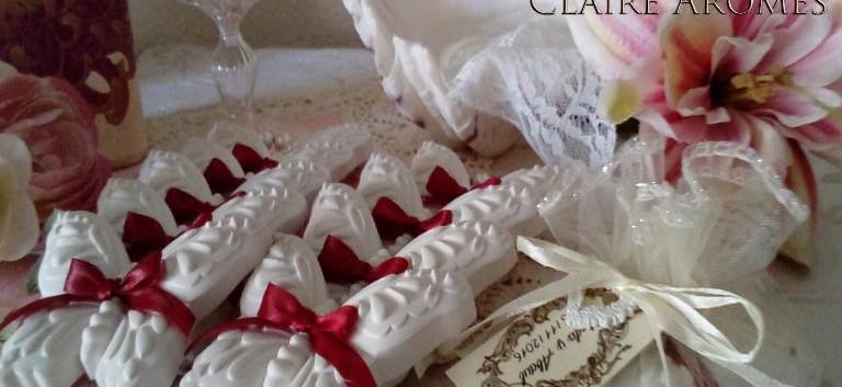 Mariposa cerámica en bolsa de organza
