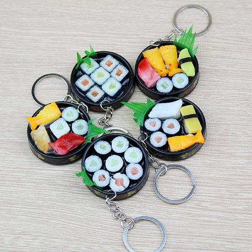 Porte-clef plateau Sushi